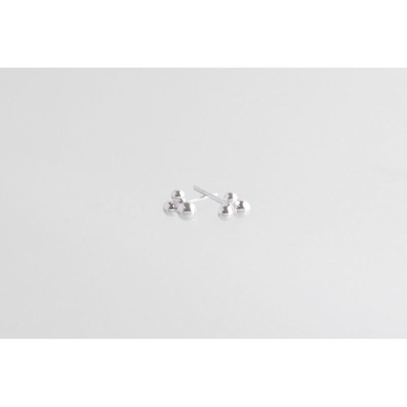 Preiselbeeren Ohrringe Silber