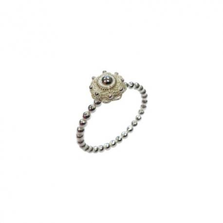 Silber Ring Zeeland-Taste