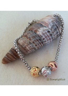 """Spheres"" bracelet"