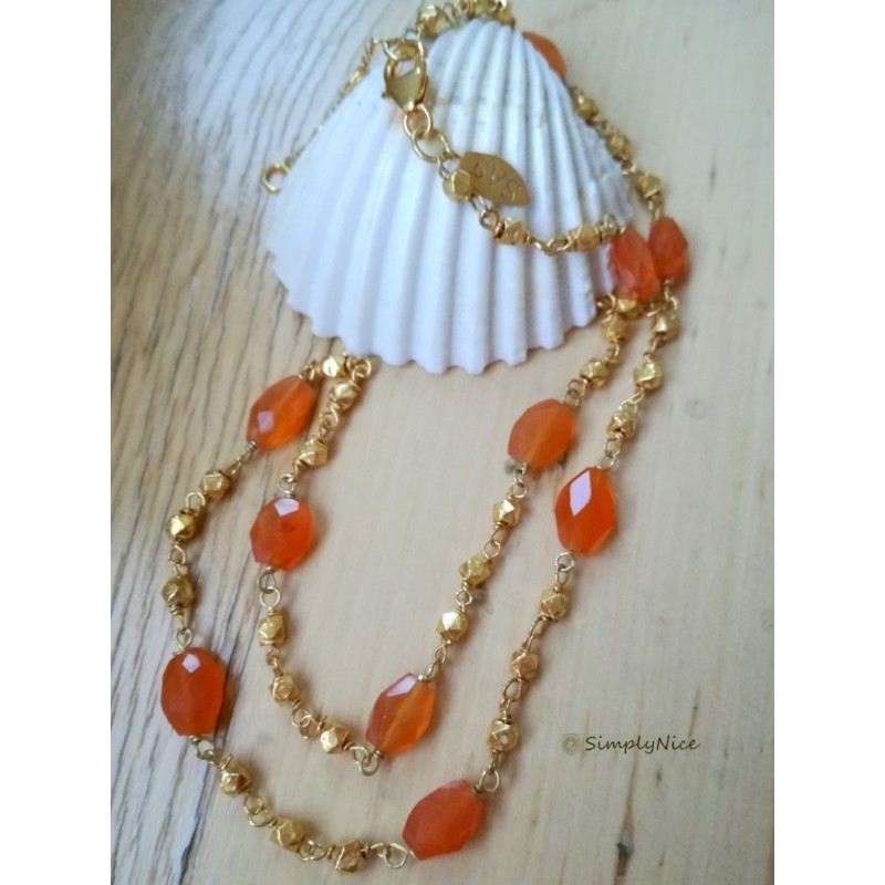 """Carnelian"" Necklace"
