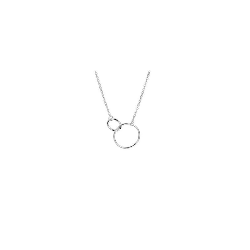 Halskette mit zwei Kreisen