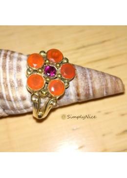 """Carnelian Garnet"" Ring"