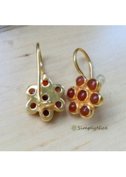 """Carnelian"" Earrings"