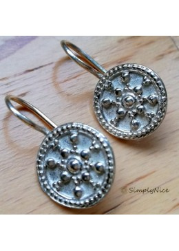 """Etruscan"" Earrings Silver"