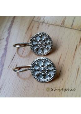"""""""Etruscan"""" Earrings Silver"""