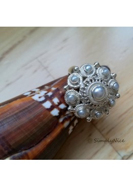 """White Pearl"" Ring"