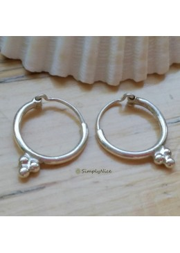 """Blossom ring small"" Earrings"