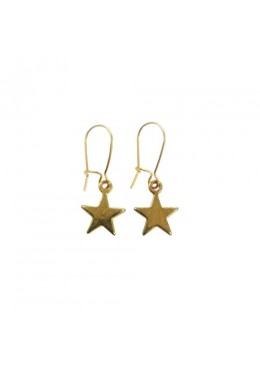 Earring star gold