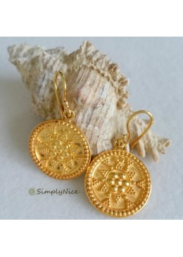 """Etruscan"" Earrings Large"