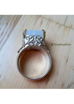 """Moonstone"" Ring"