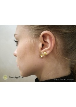 ARIEL-Ohrringe in Silber vergoldet