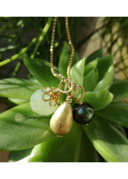 """""""Jade"""" Necklace Gold"""