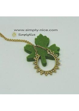 """""""Circle Boho"""" Necklace g."""