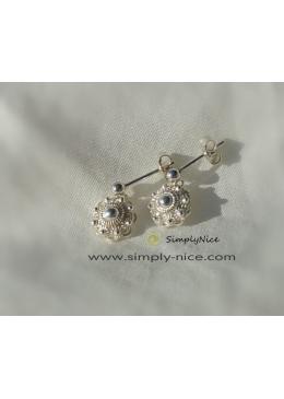 Ohrringe Silber Zeeland-Taste