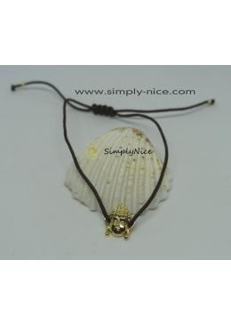 """Buddha Macramé"" Bracelet"