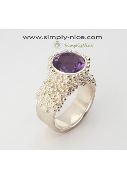 """Amethyst Beauty"" Ring"