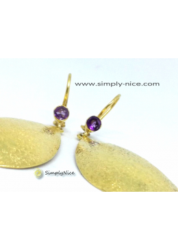 """Amethyst"" Earrings"