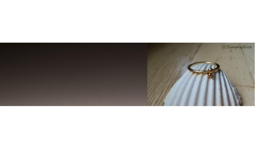 Un pequeño accesorio puede tener un gran impacto: SIMPLY NICE anillos